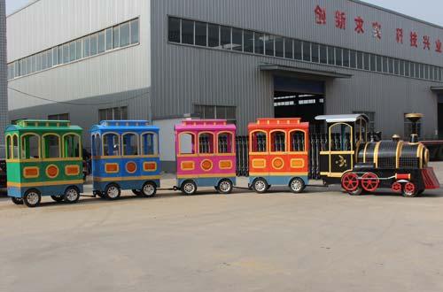 high quality trackless train rides cheap