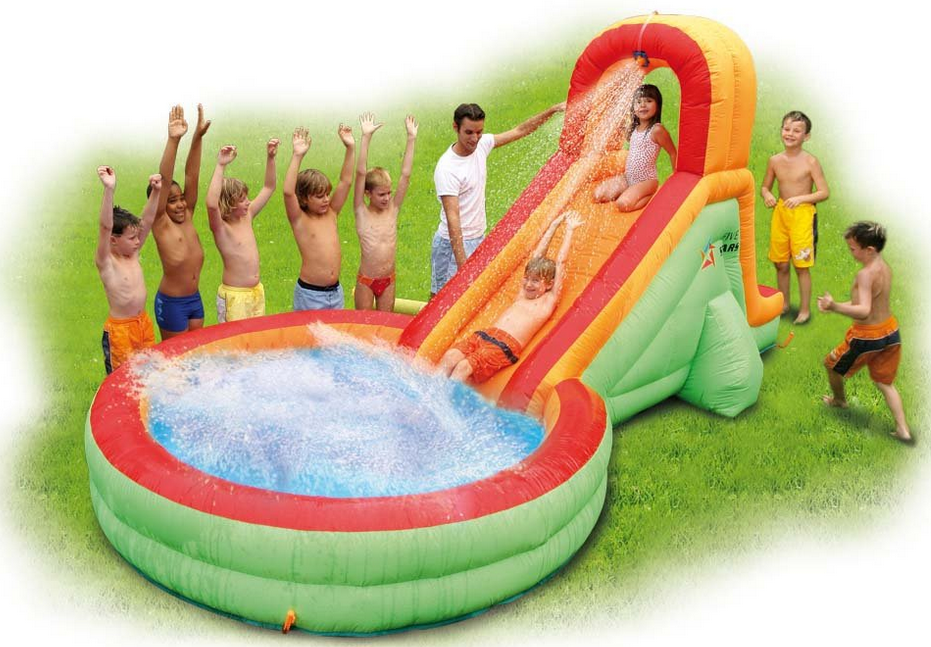 inflatable water slides for kids