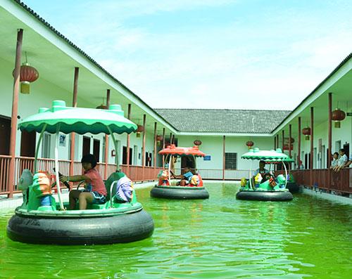 amusement park water bumper boats