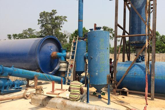 Machine to Convert Plastic into Oil