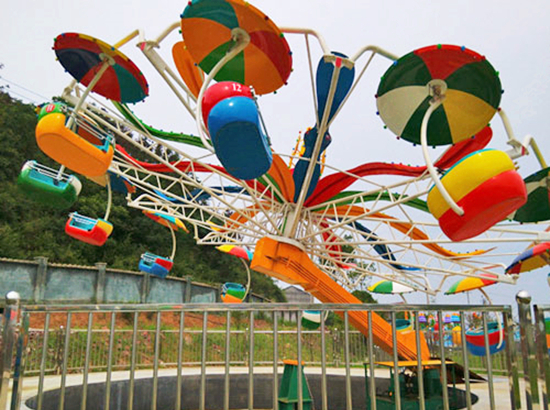 Umbrella parachute amusement rides for carnivals