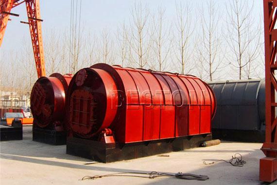 plastic to oil conversion machine for sale