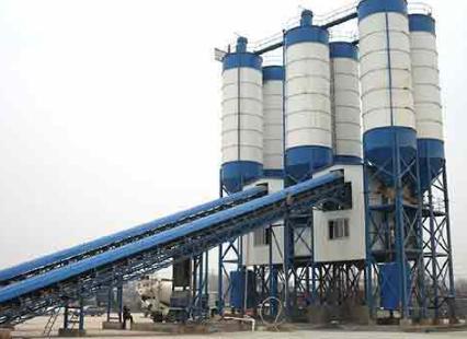 Continuous concrete mixing plant for sale