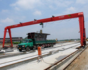 Ellsen cheap price hydraulic gantry crane for sale