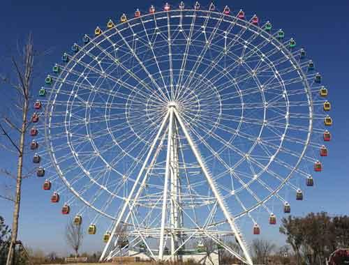 Vintage Ferris Wheel for Amusement Parks